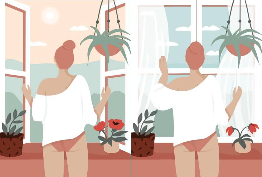 ouverture et fermeture fenêtre de fertilité