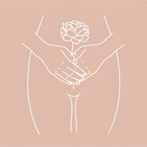 femme culotte fleur