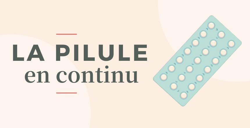 cover pilule en continu