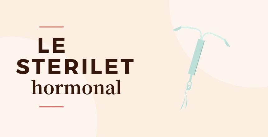 Cover stérilet hormonal
